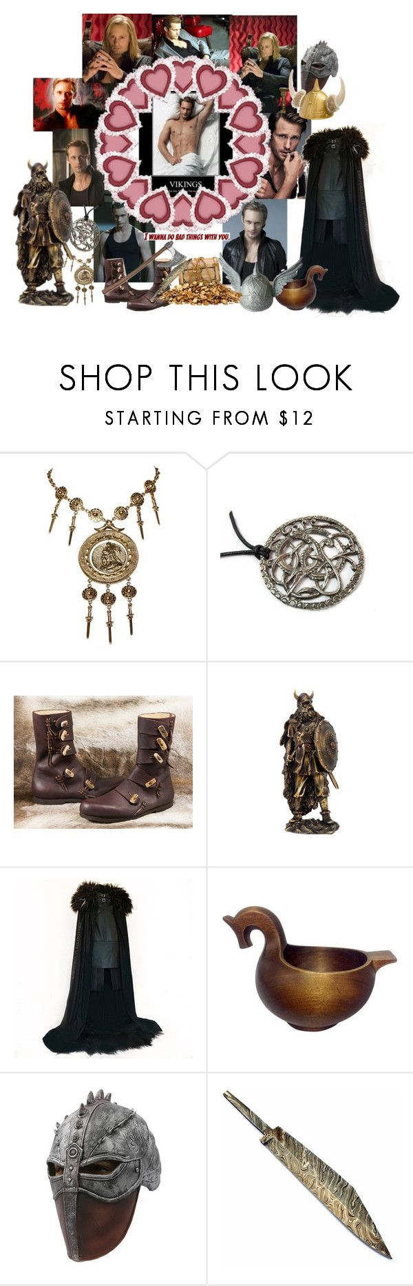 """""""Eric Northman -best viking on tv show"""" by atenaide86 ❤ liked on Polyvore featuring Trifari, Episode and Guide London"""