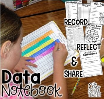 Student Data Collection and Goal Setting - This pack was created to use as a tool to track student data and provide a visual resource for the student and the parents. Great for Kindergarten, 1st, 2nd, 3rd and 4th grade.