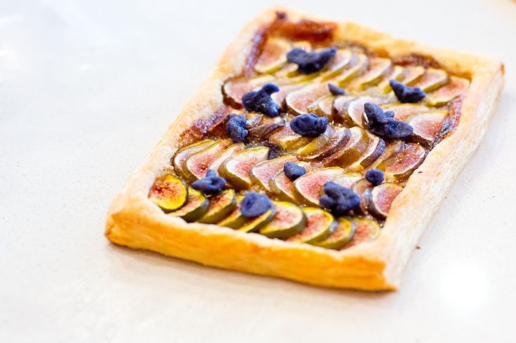 @Fig and Violet Tart by Peony Lim.