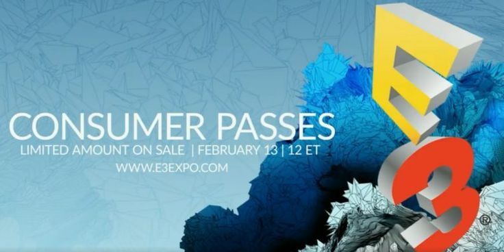 Grab your wallets gamers  E3 is selling tickets to the public