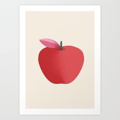 Apple 26 Art Print by Rhett
