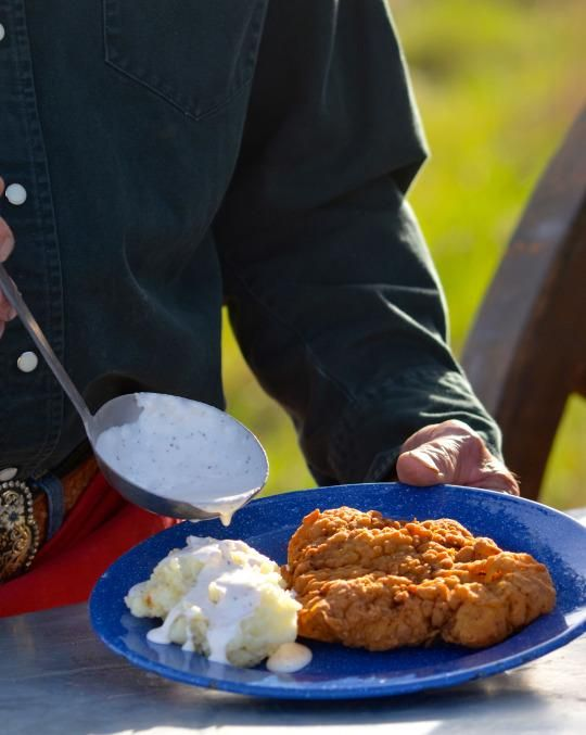 It's safe to say Kent Rollins has fixed more chicken-fried steaks than any other person. Here is his recipe.