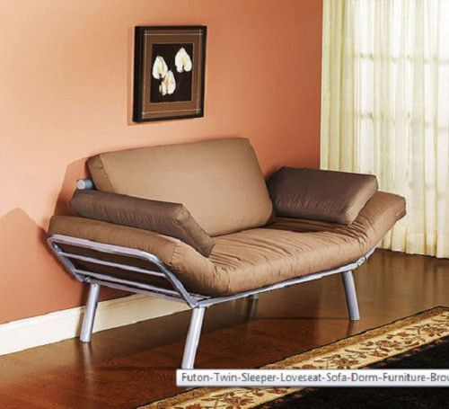 Futon Sofa Bed CONVERTIBLE Guest Sleeper Living Room College Couch Dorm Teen