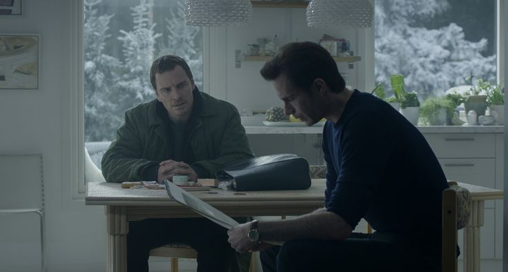 The first stills of James D'Arcy as Filip Becker (Credit: Universal Pictures)