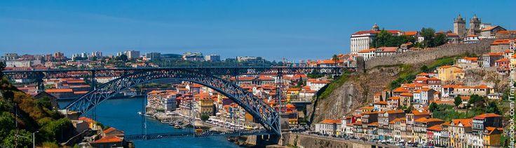 Puente Ponte Luis I, un símbolo de Oporto, Porto, Portugal