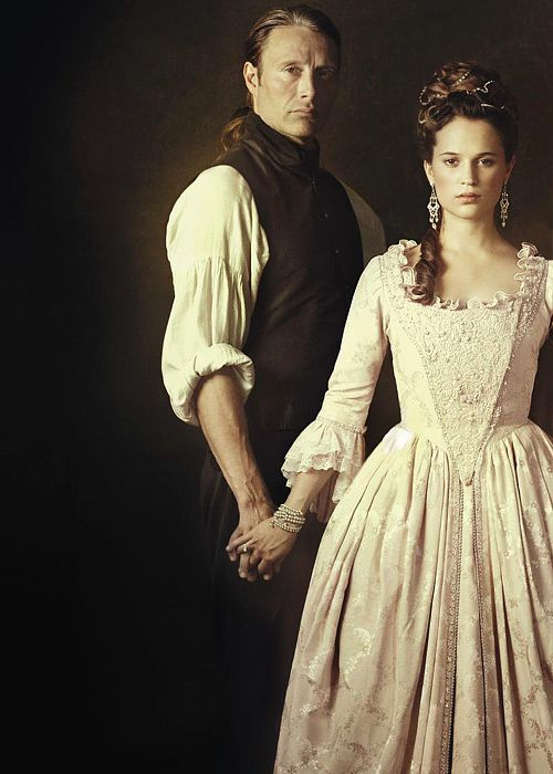 A Royal Affair promotional shot. It's coming out on DVD on March 26 in the US... who's excited?!?