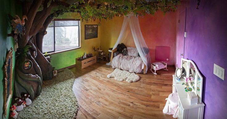 This Incredible Dad Built His Daughter an Enchanted Tree Reading Nook