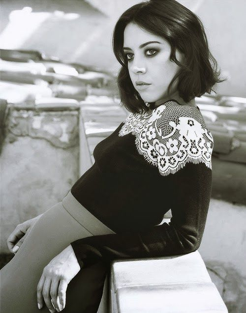 Aubrey Plaza // Foam Magazine December 2013