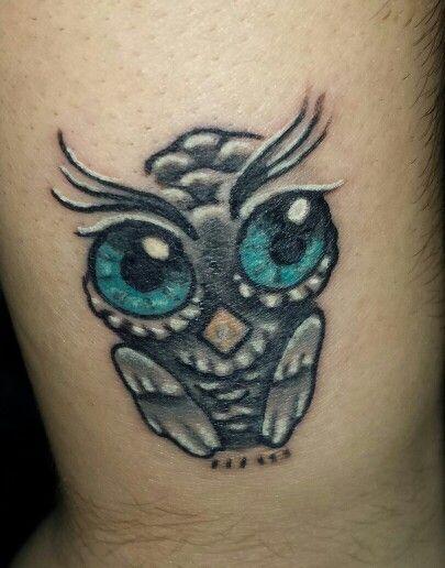 Owl Tattoos On Wrist: Owl Tattoo On Top Wrist