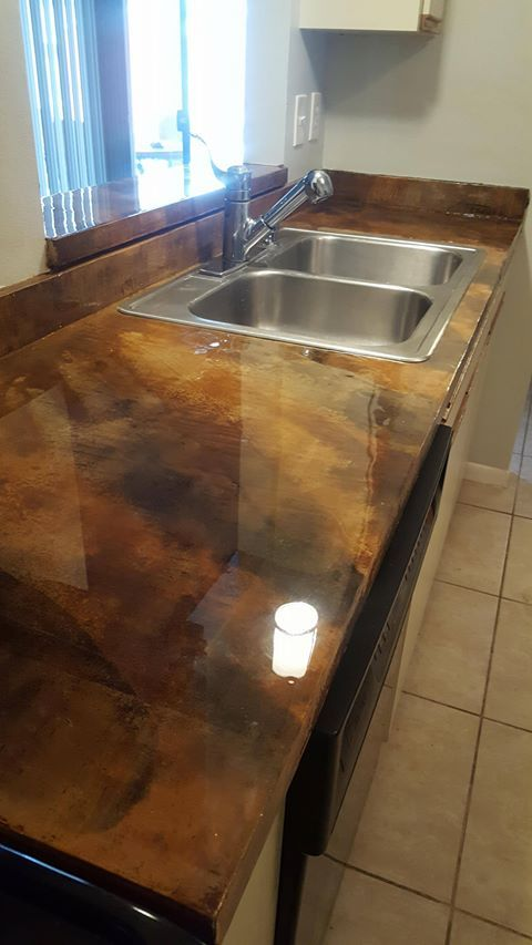Remodel Existing Kitchen Countertops With Dci Countertop Refinishing Kit Everything You Need In One For Less Direct Colors