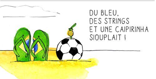À LIRE : Du bleu, des strings et une caïpirinha siouplait ! (http://www.footista.fr)