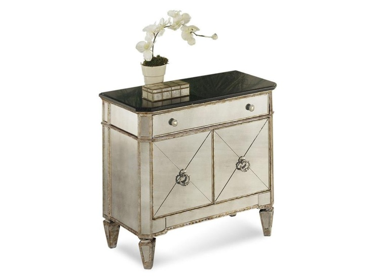 rc willey bassett mirror nightstand