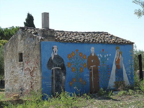 Murale a Lucera Puglia     #TuscanyAgriturismoGiratola