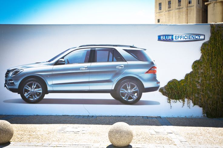 It's a Wrap: The M-Class Living Wall