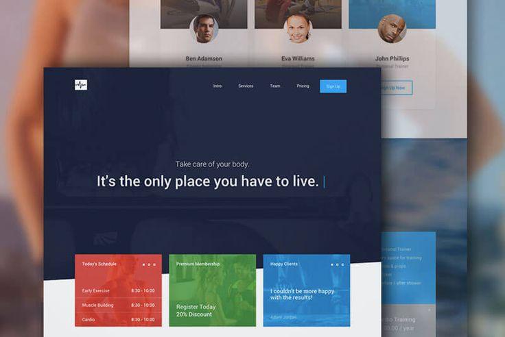 【Bootstrap製】アニメーションが美しい!最新&無料HTML5/CSS3テンプレートCardio