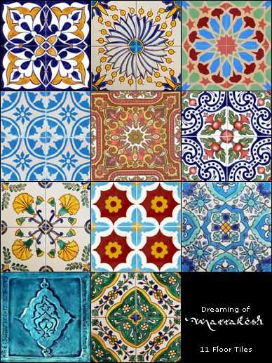 Arabian themed tile floors