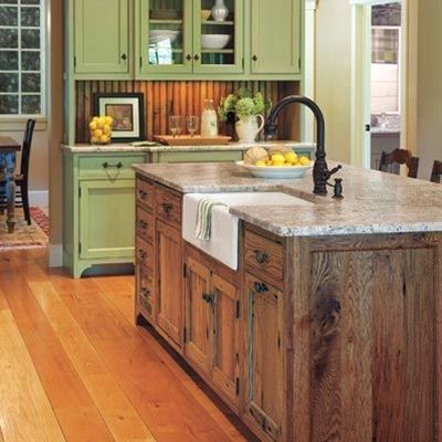 Placed at the heart of the cook space, these multipurpose units can enhance a kitchen's utility and appearance