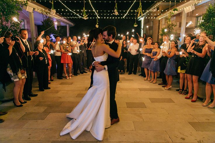 First dance under the starts (/fairy lights) in the courtyard of Gunners' Barracks | PHOTO CREDIT: John Benavente Photography -> @John Benavente