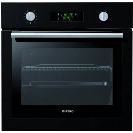 Asko - 60cm Pyrolytic Dial Control Oven, Anthracite - OP8611A - 1
