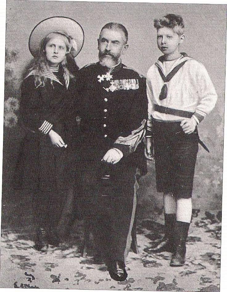 Carol I with Elisabeth and Carol 1900