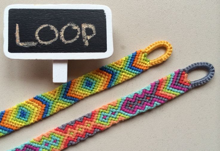 Easy Way To Make Quality Loop For Your Friendship Bracelet