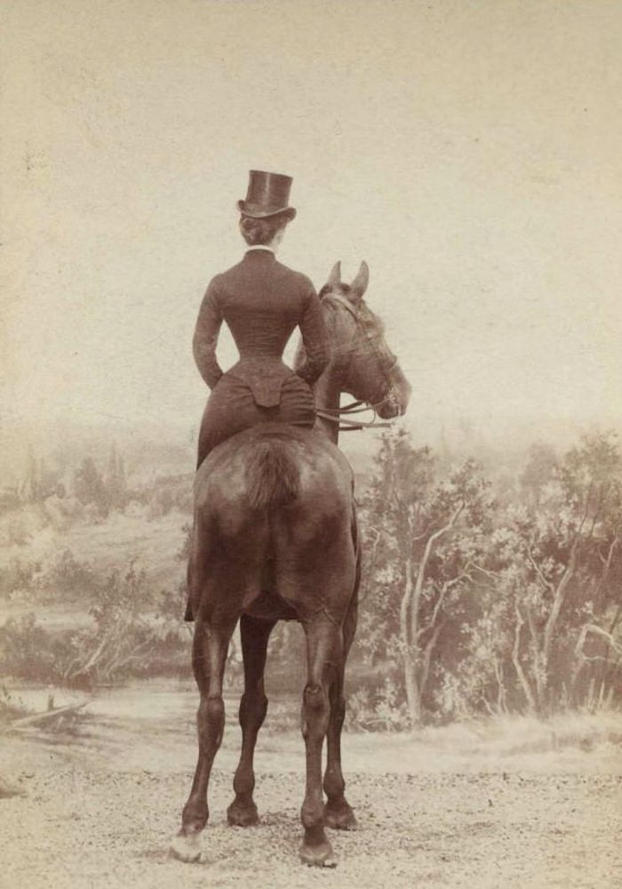 "The courtesan Catherine Walters aka ""Skittles"" (?), circa ..."