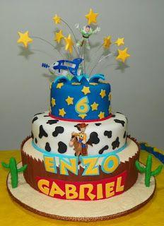 Bolo Toy Story - Enzo Gabriel