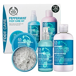 The Body Shop - Peppermint Cooling Foot Set  #sephora  this stuff is amazing!(: