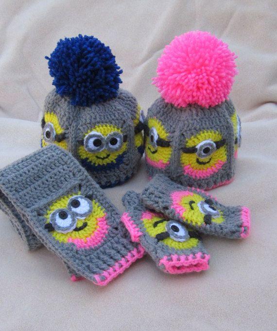 466 besten Crochet Minion Bilder auf Pinterest   Schergen häkeln ...