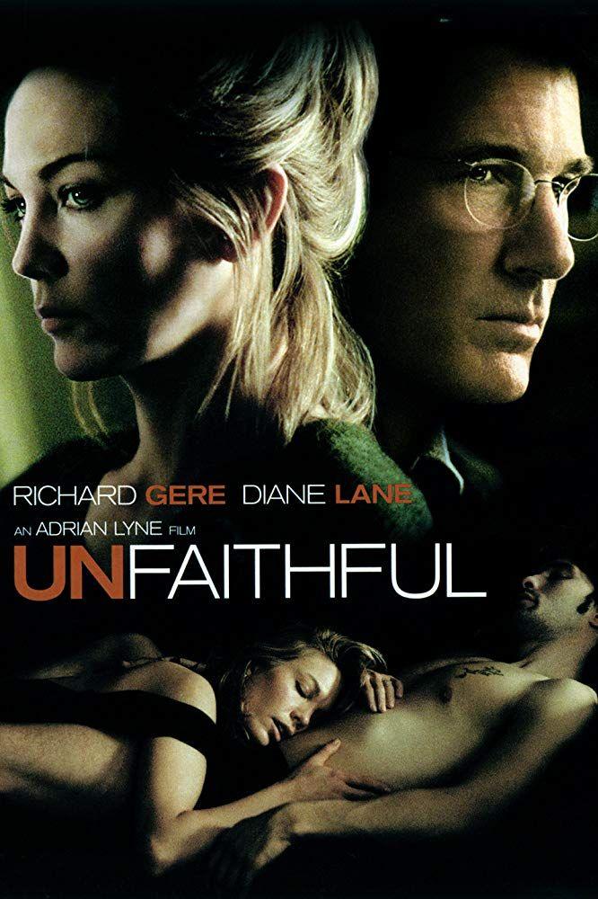 Unfaithful 2002 Diane Lane Unfaithful Diane Lane Movies Diane Lane