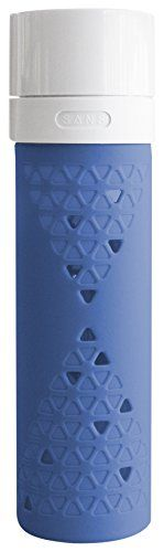 SANS Juice and Smoothie Preserving Travel Bottle, Berry Blue