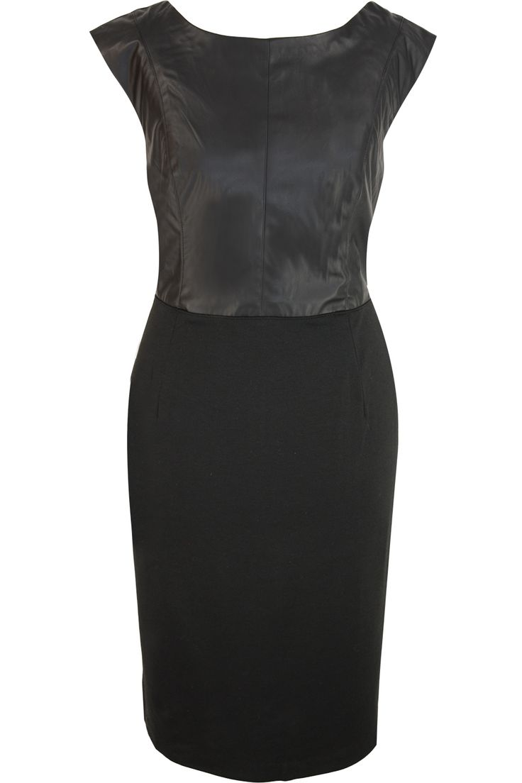 Bruno Banani little black PU dress