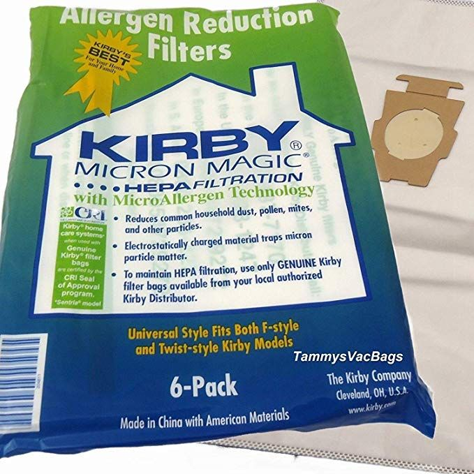 Kirby 6 Cloth Vacuum Bags Review Vacuum Bags Kirby Vacuum Bags Kirby Vacuum