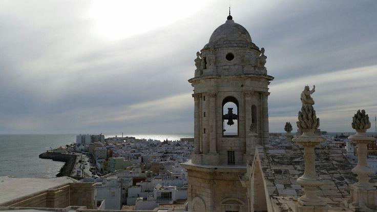 vistas desde la torre de la catedral de cadiz - Buscar con Google