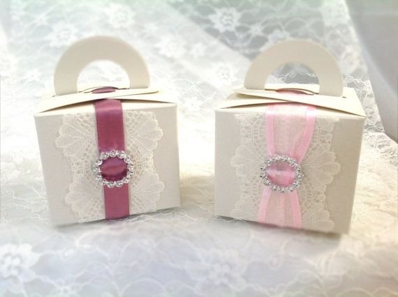 Shabby Chic Vintage Favour / Cupcake Boxes by VeryVintageBoutiques, £1.60