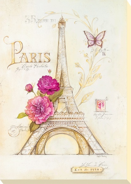 Love Paris stuff. This looks so chic, wish it were a picture in my house.
