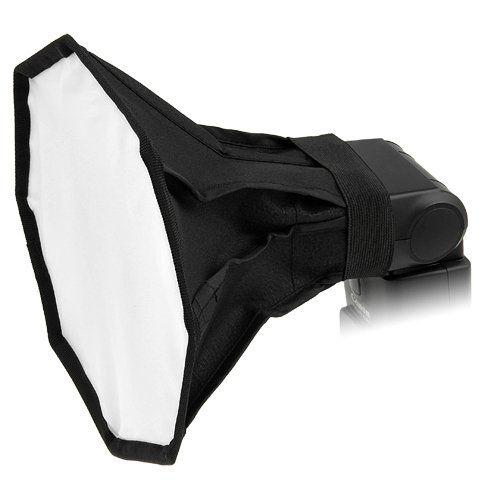 """Fotodiox 8"""" Octagon Softbox for Nikon SB-600, SB-700, SB-800, SB-900, SB-910…"""