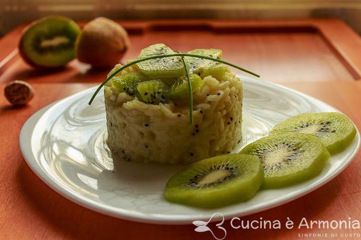 #Risotto al #kiwi profumato alla #noce #moscata http://www.cucinaearmonia.com/2014/04/risotto-al-kiwi-profumato-alla-nooce-moscata.html #food #foodblogger #cucinaearmonia