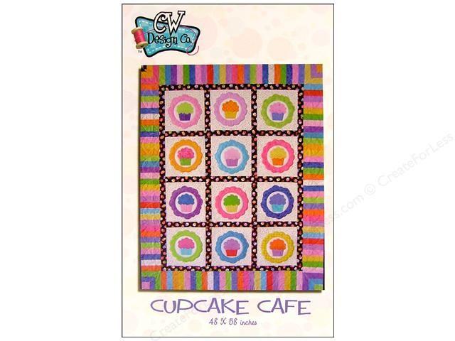 Cupcake circles: Cafe Patterns, Quilts Patterns, Applique Quilts, Cupcakes Cafe, Patterns Products, Cupcakes Circles, Design Cupcakes, Bright Colors, Equilt Patterns