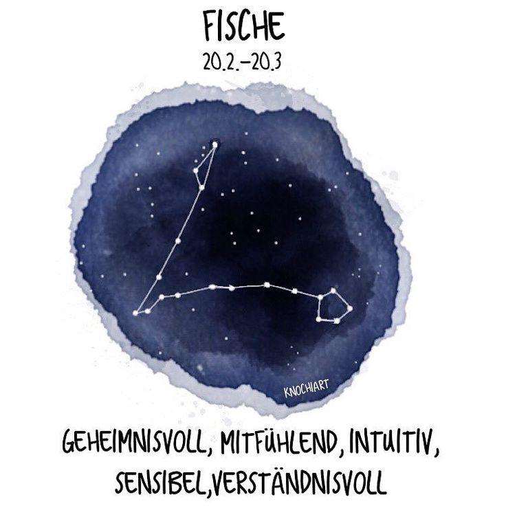 #Sternzeichen ♋️ #Fische ☺️ Wer noch  !? Das #Bild zum #Video ✨ Ich hatte die Idee mit den Sternzeichen so ähnlich die Tage bei #pinterest gesehen und musste es unbedingt mal nach zeichnen weil ich es selbst so toll finde ✨  #herzallerliebst...