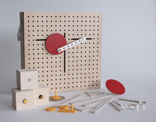 4 | A Clever Modular Toy That Teaches Kids Kinetic Design | Co.Design | business + design