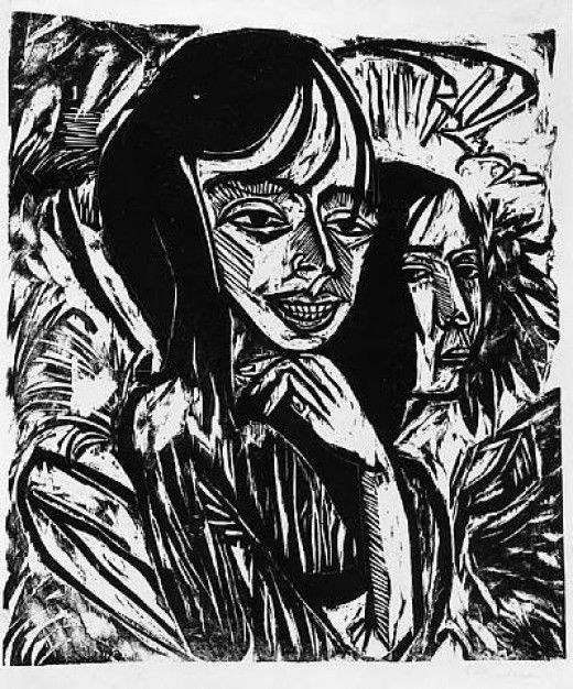 kirchner woodcuts - Google Search