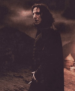 This was perfect~looking back at Harry (still watching over him)