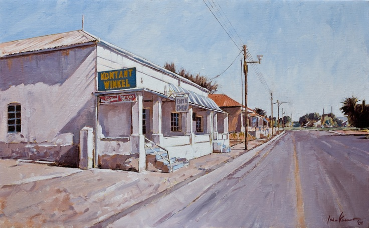 Kontant Winkel, Hopetown, South Africa. John Kramer.