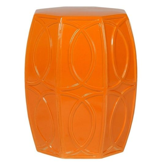 Emissary Home u0026 Garden - Orange Garden Stool @jdouglas  sc 1 st  Pinterest & 39 best Emissary images on Pinterest | Ceramic garden stools ... islam-shia.org