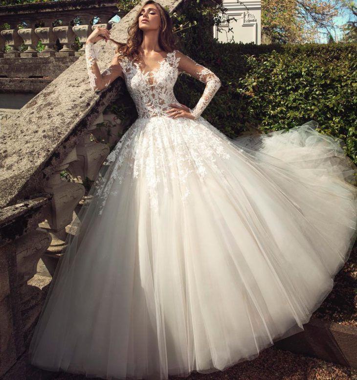 Vestido de noiva princesa: 111 modelos para viver um conto de fadas em 2020 | Vestidos de noiva princesa, Vestido de noiva, Vestidos de noiva sereia