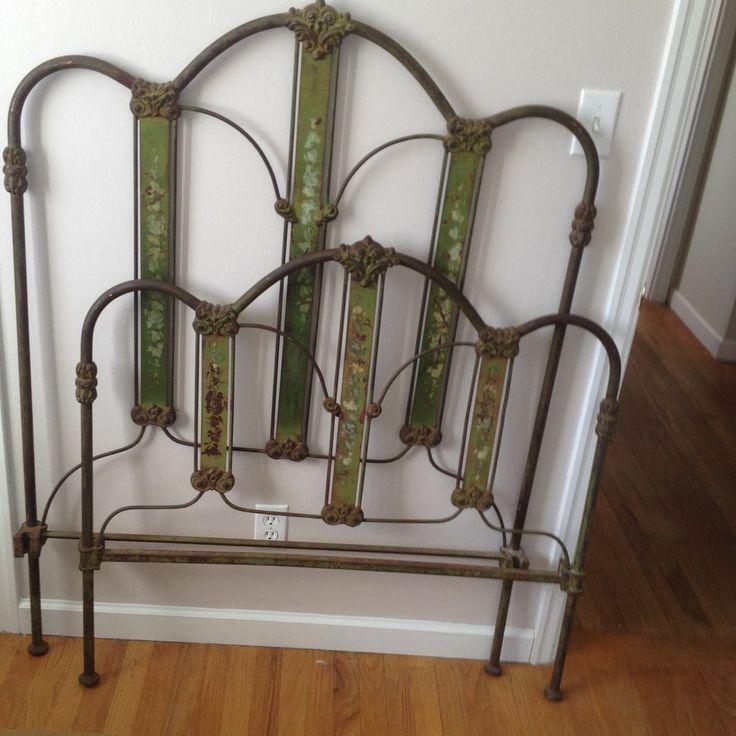 50+ best Antique Iron Beds images on Pinterest | Antique iron beds ...