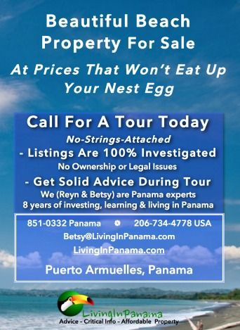 You can now get a PDF of all our properties for sale in Puerto Armuelles, Panama.  #panamarealestate #puertoarmuellesrealestate