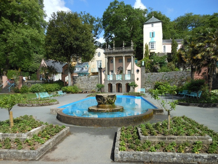 Port Meirion, North Wales by Tara