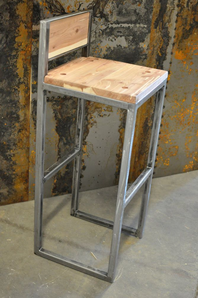 Build Your Own Metal Bar Stool Woodworking Projects Amp Plans